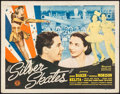 """Movie Posters:Musical, Silver Skates (Monogram, 1943). Half Sheets (2) (22"""" X 28"""") Styles A & B. Musical.. ... (Total: 2 Items)"""
