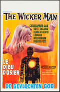 "Movie Posters:Horror, The Wicker Man (Excelsior Films, 1973). Belgian (14"" X 21.5""). Horror.. ..."