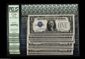 Small Size:Silver Certificates, Fr. 1600 $1 1928 Silver Certificate. PCGS Gem New 65PPQ. This group of ten $1 Funnybacks third party graded all exhibit ple... (10 notes)