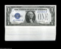 Small Size:Silver Certificates, Fr. 1601 $1 1928A Silver Certificates. Original Pack of 100. Gem Crisp Uncirculated. A totally fresh original pack of 100 p...