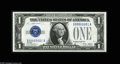 Small Size:Silver Certificates, Fr. 1601 $1 1928A Silver Certificate. Gem Crisp Uncirculated. A lovely note bearing serial number X00000001A. Expect this p...