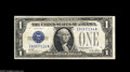 Small Size:Silver Certificates, Fr. 1601 $1 1928A Silver Certificate. Very Fine-Extremely Fine. The very scarce E-A block which catalogues for $200 in Very...