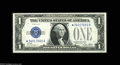 Small Size:Silver Certificates, Fr. 1601*/Fr. 1602* $1 1928A/1928B Silver Certificates. Changeover Pair. Choice Crisp Uncirculated. Oakes lists only three ... (2 notes)