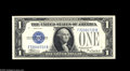 Small Size:Silver Certificates, Fr. 1605 $1 1928E Silver Certificate. Gem Crisp Uncirculated. An attractive and well centered example of the key to the $1 ...