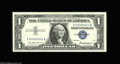 Small Size:Silver Certificates, Fr. 1619 $1 1957 Silver Certificate. Gem Crisp Uncirculated. Serial number X00000001A, a perfect mate to the identical seri...