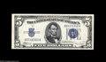 Small Size:Silver Certificates, Fr. 1653/1654 $5 1934C/1934D Silver Certificates Changeover Pair. Gem Crisp Uncirculated. A better Changeover Pair in top g...