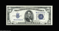 Small Size:Silver Certificates, Fr. 1653/Fr. 1652 $5 1934C/1934B Silver Certificates. Reverse Changeover Pair. Choice-Gem CU. This pair from the New Englan... (2 notes)