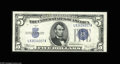 Small Size:Silver Certificates, Fr. 1653/Fr. 1653 $5 1934C/1934C Mule Silver Certificates. Changeover Pair. Choice Crisp Uncirculated. This changeover pair... (2 notes)