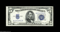 Small Size:Silver Certificates, Fr. 1653*/Fr. 1652* $5 1934C/1934B Silver Certificates. Reverse Changeover Pair. Choice Crisp Uncirculated. This unique rev... (2 notes)