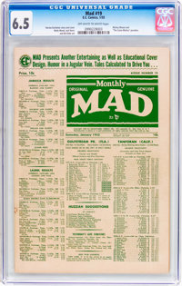 MAD #19 (EC, 1955) CGC FN+ 6.5 Off-white to white pages