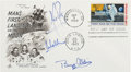 "Explorers:Space Exploration, Apollo 11 Crew-Signed ""First Man on the Moon"" First Day Cover...."