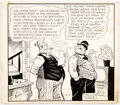 Bill Freyse Our Boarding House with Major Hoople Daily Single-Panel Comic Strip  Comic Art