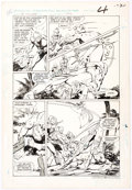 Gil Kane and Klaus Janson DC Challenge #4 Story Page 4 Aquaman and Martian Manhu Comic Art
