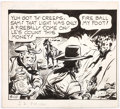 Fred Harman Red Ryder Partial Daily Comic Strip Original Art dated 9-10-60 (McNa Comic Art