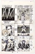 Original Comic Art:Panel Pages, Howard Chaykin American Flagg! #24 Story Page 1 Original Art(First Comics, 1985)......