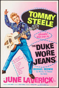 "Movie Posters:Comedy, The Duke Wore Jeans (Anglo Amalgamated, 1958). British Double Crown (20"" X 29.5""). Comedy.. ..."