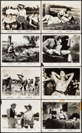 """Movie Posters:Foreign, Rice Girl (Ultra Film, 1963). Photos (9) (8"""" X 10""""). Foreign.. ... (Total: 9 Items)"""