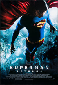 """Superman Returns & Others Lot (Warner Brothers, 2006). One Sheets (3) (27"""" X 40""""). Action. ... (Total: 3 I..."""