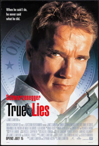 "True Lies & Other Lot (20th Century Fox, 1994). One Sheets (2) (27"" X 39.5"" & 27"" X 40&qu..."