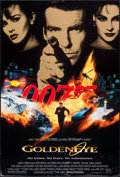 "Movie Posters:James Bond, GoldenEye & Other Lot (United Artists, 1995). One Sheets (2)(27"" X 40"") SS. James Bond.. ... (Total: 2 Items)"