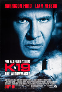 "K-19: The Widowmaker (Paramount, 2002). Identical One Sheets (2) (27"" X 40""). Thriller. ... (Total: 2 Items)"