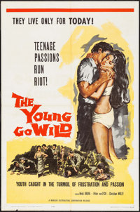 "The Young Go Wild (Manson Distributing, 1962). One Sheet (27"" X 41""). Exploitation"