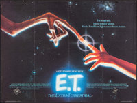 "E.T. The Extra-Terrestrial (Universal, 1982). British Quad (30"" X 40""). Science Fiction"