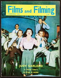 """Films and Filming Magazine (Hansom Books, 1954). Magazine (32 Pages, 8.5"""" X 11""""). Miscellaneous"""