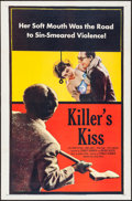 "Movie Posters:Film Noir, Killer's Kiss (United Artists, 1955). One Sheet (27"" X 41"") &Title Lobby Card (11"" X 14""). Film Noir.. ... (Total: 2 Items)"