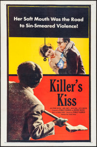 "Killer's Kiss (United Artists, 1955). One Sheet (27"" X 41"") & Title Lobby Card (11"" X 14"")..."