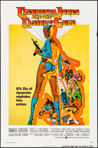 "Cleopatra Jones and the Casino of Gold (Warner Brothers, 1975). One Sheet (27"" X 41""). Blaxploitation"