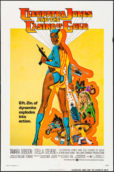 Cleopatra Jones And The Casino Of Gold Warner Brothers 1975 Lot 51083 Heritage Auctions