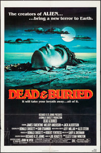 """Dead & Buried & Other Lot (Avco Embassy, 1981). One Sheets (2) (27"""" X 41""""). Horror. ... (Total: 2 Item..."""