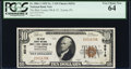 National Bank Notes, Tyrone, PA - $10 1929 Ty. 1 The Blair County NB & TC Ch. # 6516. ...