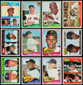 Baseball Cards:Sets, 1965 Topps Baseball Partial Set (509/598). . ...