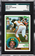 Baseball Cards:Singles (1970-Now), 1983 Topps Tony Gwynn #482 SGC 98 Gem 10. Offered ...
