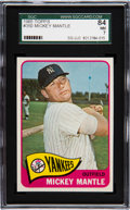 Baseball Cards:Singles (1960-1969), 1965 Topps Mickey Mantle #350 SGC 84 NM 7....
