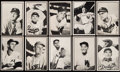 Baseball Cards:Sets, 1953 Bowman Baseball Black & White Near Set (60/64). . ...