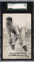 Baseball Cards:Singles (Pre-1930), 1921 Exhibits Babe Ruth SGC 50 VG/EX 4....