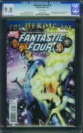 Modern Age (1980-Present):Superhero, Fantastic Four V3#579 - WESTPORT COLLECTION (Marvel, 2010) CGC NM/MT 9.8 White pages.