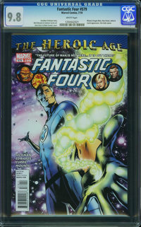 Fantastic Four V3#579 - WESTPORT COLLECTION (Marvel, 2010) CGC NM/MT 9.8 White pages