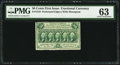 Fractional Currency:First Issue, Fr. 1310 50¢ First Issue PMG Choice Uncirculated 63.. ...