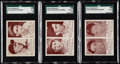 Baseball Cards:Lots, 1941 Double Play Baseball SGC Graded Trio (3).. ...