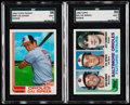 Baseball Cards:Lots, 1982 Topps & Topps Traded Cal Ripken Jr. SGC 96 Mint 9 GradedPair (2).. ...