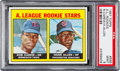 Baseball Cards:Singles (1960-1969), 1967 Topps Rod Carew - A.L. Rookie Stars #569 PSA Mint 9 - Only OneHigher. ...