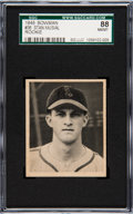Baseball Cards:Singles (1940-1949), 1948 Bowman Stan Musial #36 SGC 88 NM/MT 8....