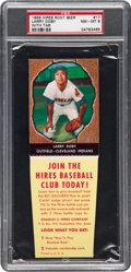 Baseball Cards:Singles (1950-1959), 1958 Hires Root Beer Larry Doby #17 PSA NM-MT 8.  ...