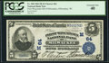 National Bank Notes, Milwaukee, WI - $5 1902 Plain Back Fr. 598 First Wisconsin NB Ch. # (M)64. ...