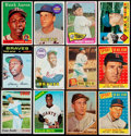 Baseball Cards:Lots, 1958-78 Topps Baseball Stars & HoFers Collection (34).. ...
