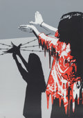 Prints & Multiples, Kurar (French, b. 1983). Sad Reality (Red Edition), 2016. Silkscreen in colors on paper. 27-1/2 x 19-5/8 inches (69.9 x ...